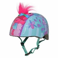 Dreamworks Trolls Poppy And Friends Child Multisport Helmet Pink / Blue Other  Great for bikes / scooters / skateboards etc.  Brand New - Never been used  In Excellent condition   Retails for $40  Offered for only $25 Toronto, M5P 2V5