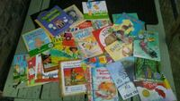 25 various childrens books.  Anchorage, 99507