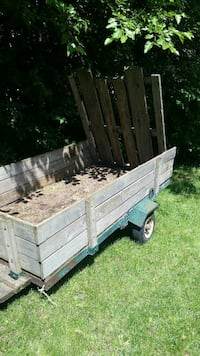 brown wooden utility trailer Belleville, K8N 1P5