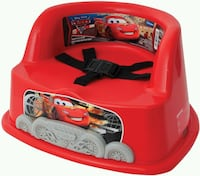 DISNEY PIXAR'S CARS BOOSTER SEAT + ACTIVITY TOY!! Edmonton, T6R 3L6