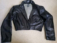 Lady's short jacket. 100% Original Leather. Laurel