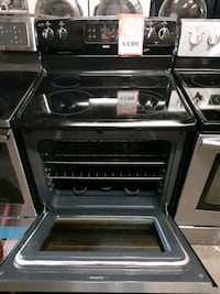 KENMORE glass top electric stove stainless steel working perfectly