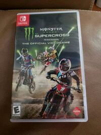 nintendo switch game: super cross Woodbridge, 22191