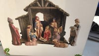The Nativity figurine set