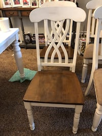 brown and white wooden chair Bakersfield, 93309