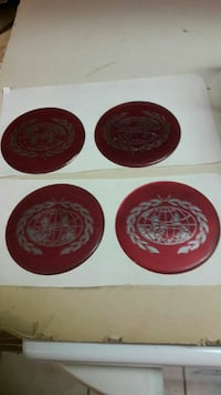 4 Cadillac hub cap decals 18 for all
