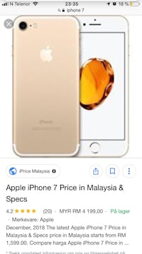 iPhone 7 32GB Oslo, 0876