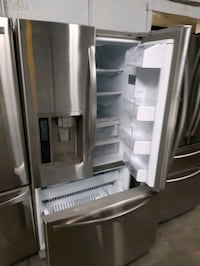LG STAINLESS STEEL FRENCH DOORS FRIDGES WORKING PERFECTLY  Baltimore, 21201