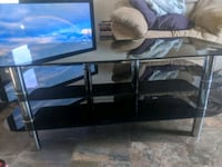 Glass tv stand DELIVERY OPTIONAL
