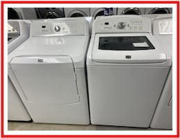 Maytag set (glass top)