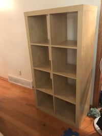 brown wooden 5-layer shelf St Catharines, L2S 2S9