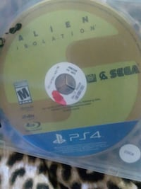PlayStation 4 game Alien isolation Cleveland, 44135