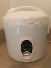 White and gray aroma rice cooker Rockville, 20850