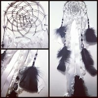Hand-Made Dreamcatcher Black and White  Mississauga, L4T 3N4