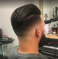 Barber haircuts Brampton