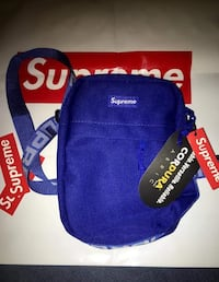 blue and red Supreme backpack Fairfax, 22033