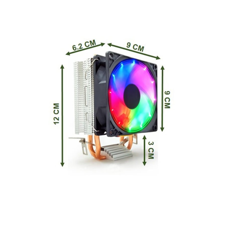 SNOWMAN - M200 CPU FAN RAİNBOW 0
