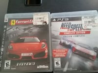 two Sony PS3 game cases Lubbock, 79407