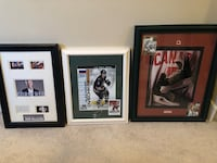 Alex Ovechkin, Ron Maclean, Team Canada (Serge Savard and Paul Henderson) Autographed Framed Pictures  Edmonton, T5Z