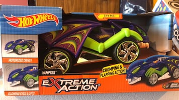 Hot Wheels Extreme Action Car.