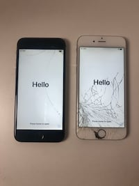 Two iPhone 6 for parts (IC locked)