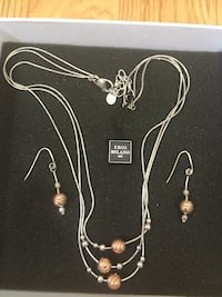 Eros Milano Necklace and Earring Set Webster, 14580