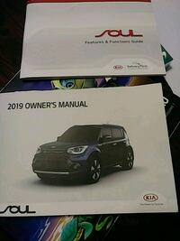 Complete set 2019 Kia Soul Owners manuals  Sparta, 38583