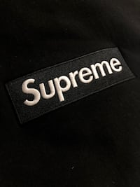 Supreme FW18 Black Box Logo