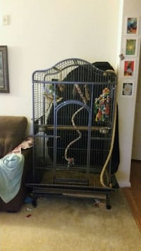 black and gray metal cage Odenton