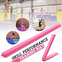 Home Balance Beam For Gymnastics, Dance, Cheer Leading, Martial Arts + Barrie, L4N 5S8