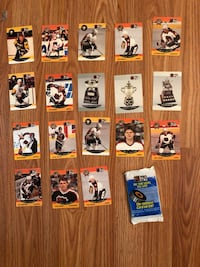 NHL trading cards