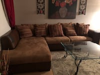 Free couch.. pleather starting tearing, but structure and comfort still there.  Non smoking home.  Must pick up.  Las Vegas