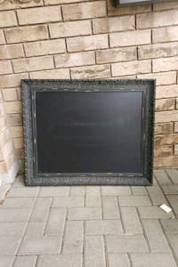 chalk board picture frame rustic looking