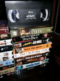 30 VHS Movies Welland