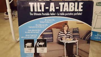 Tilt-A-Table box