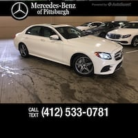 Mercedes Benz Of Pittsburgh >> Used 2017 Mercedes Benz E 300 For Sale In Pittsburgh Letgo