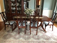 High End Vintage Century Dining Room Ensemble - Exceptional Condition Charlotte
