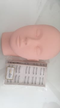 Training head for eyelashes & makeup Vaughan, L4H 2L2