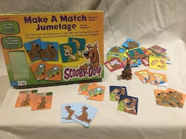Scooby-Doo Make a Match Memory Game