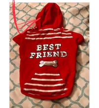 red and white Supreme crew-neck sweater Brownsville, 78521