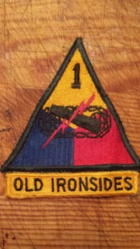 U.S. Army patch Toronto, M6H 1E7