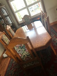6 person dining table set Toronto, M6E 4N5