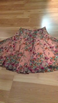 pink and multicolored floral skirt 2391 mi
