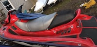 red and black kayak with black paddle 154 mi