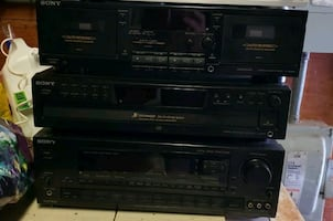 Reciever/CD player/ ,Tape player