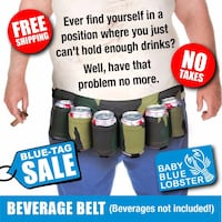 BEVERAGE BELT (Beverages not included!) Innisfil, L9S