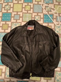 Men's leather biker jacket Toronto, M1K 4A6