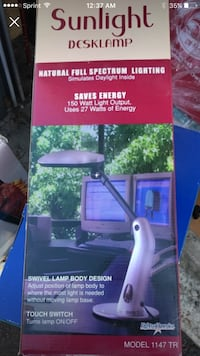 Desk lamp …Never used still in box...  Medford