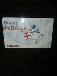 $25 EB Games Giftcard Burnaby, V5A 4X9