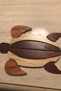 Hand made wooden sea turtle Silver Spring, 20901